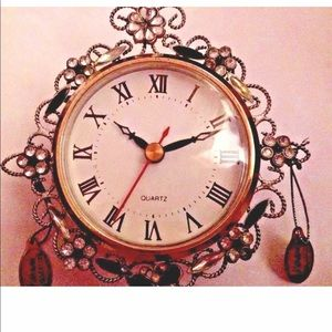 """New Katherine's Collection Clock 5 1/4"""" by 5 1/4"""""""